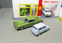 tlv-26b subaru greenlight copo chevelle 1/64