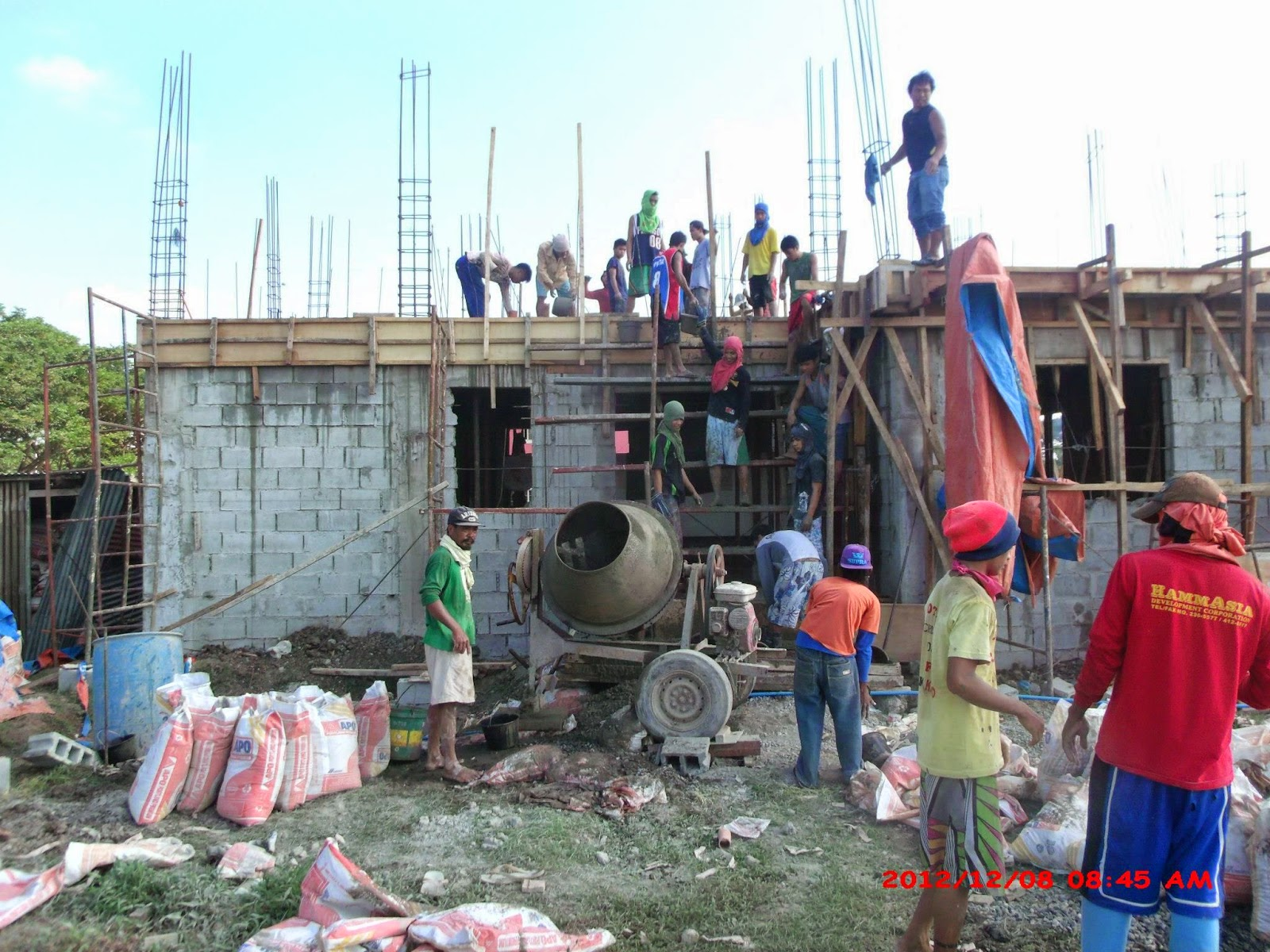 Savannah trails house construction project in oton iloilo for House garage design philippines
