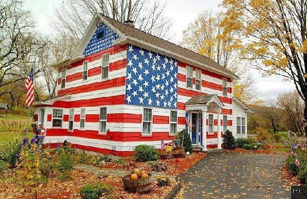 Patriotic house