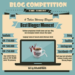 Warung Blogger Blog Competition