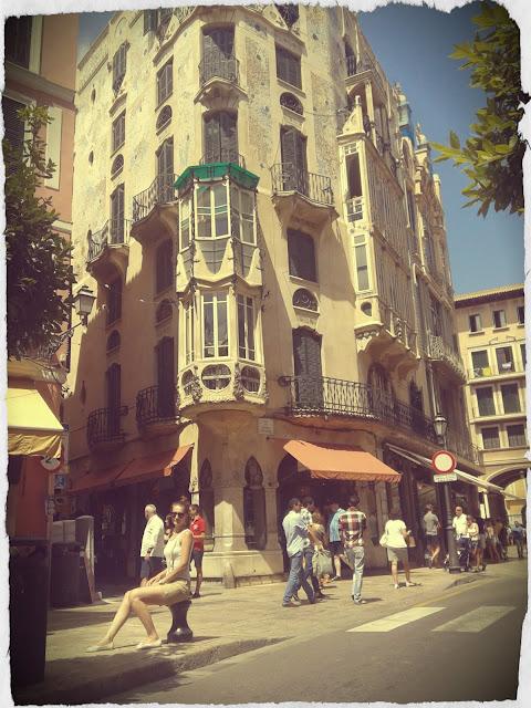 Palma De Mallorca, Street, Mayorka Tatili