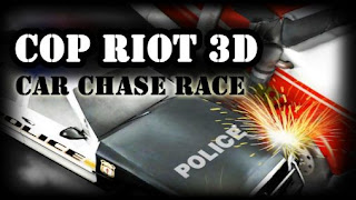 Screenshots of the Cop riot 3D: Car chase race for Android tablet, phone.