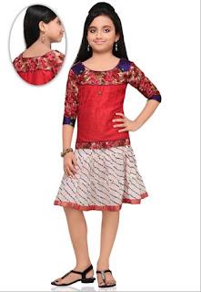 Style busana anak umur 13 tahun gaya india trend baru masa kini