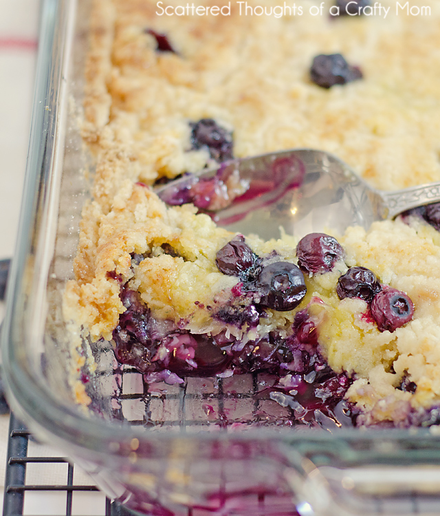 Best Blueberry Recipe Made With Cake Mix