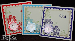 Cute Cards by Bekka featuring the Vintage Vogue Stamp Set.  www.feeling-crafty.co.uk