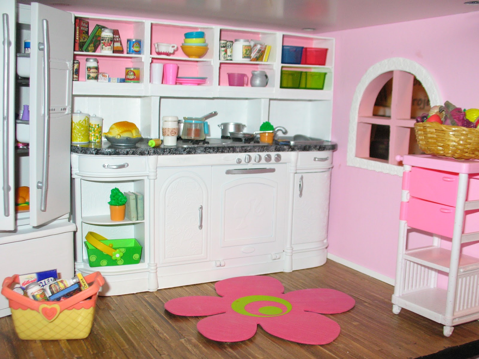 Homemade Barbie House