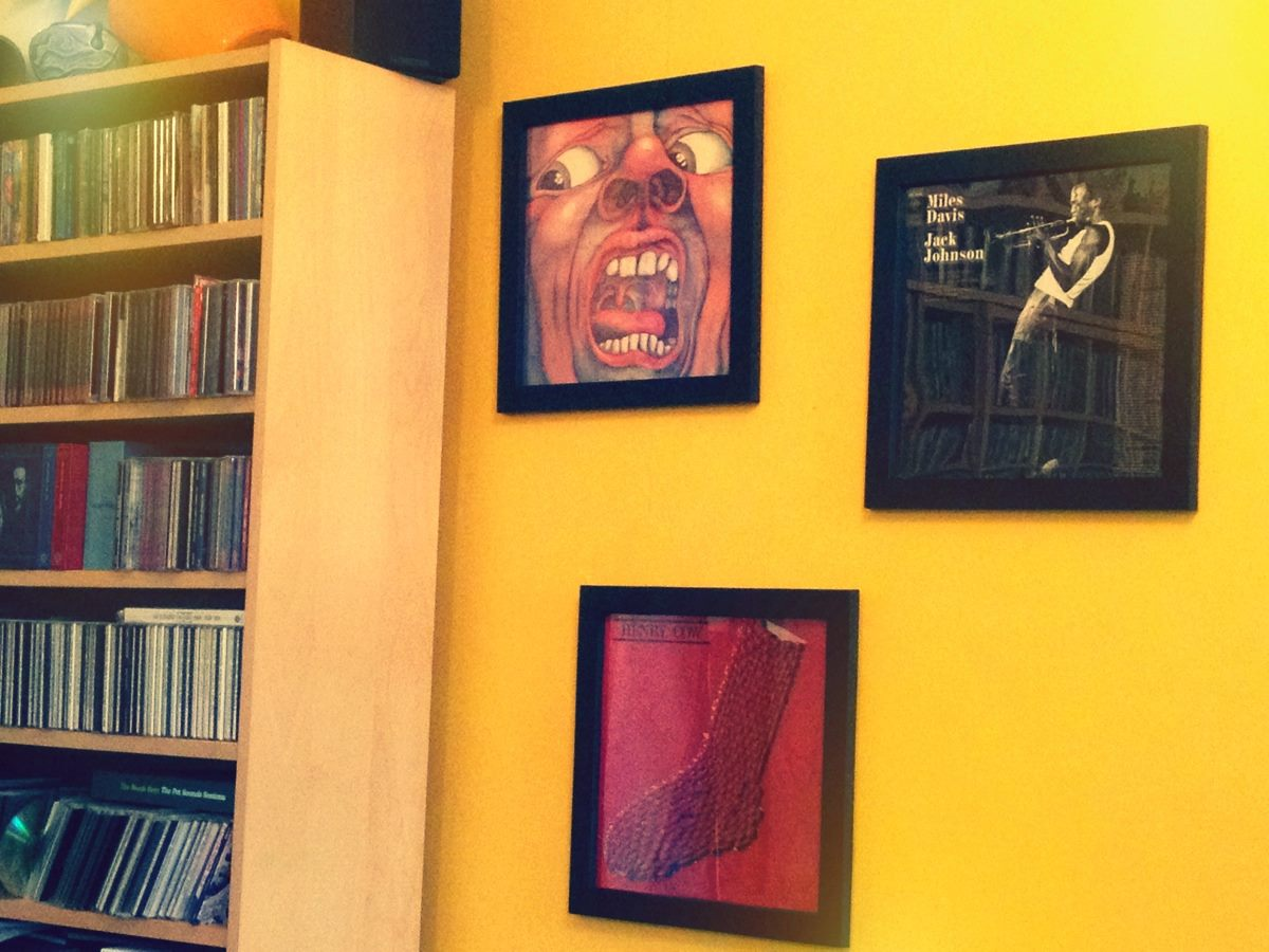 LP Covers In Frames Do Furnish A Room | Sid Smith\'s Postcards From ...
