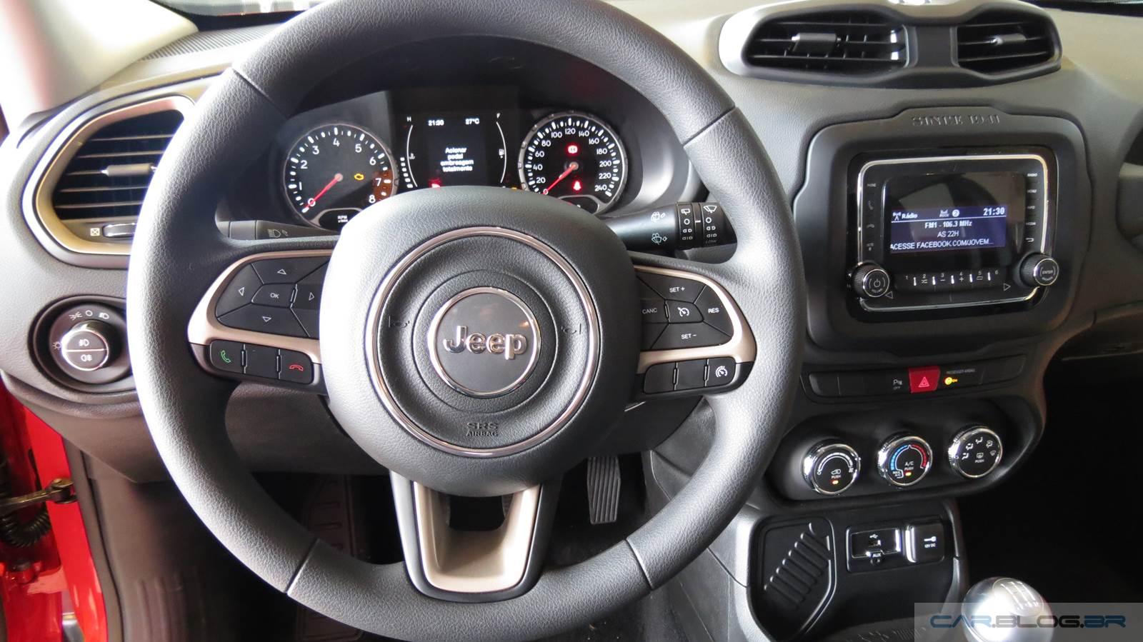 Jeep Renegade - versão mais barata