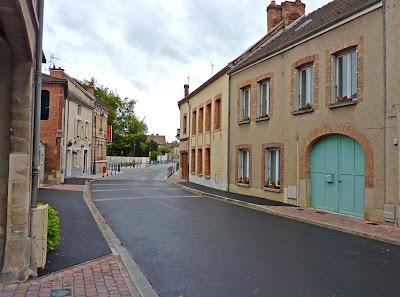 Les rues de Mareuil