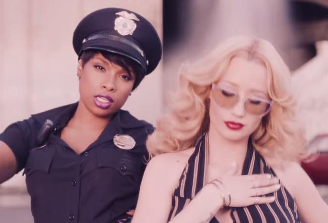 "Iggy Azalea ""Trouble"" Music Video Ft. Jennifer Hudson"
