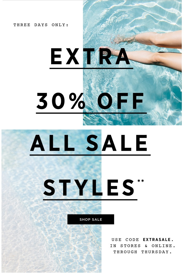 Watch Sale: Extra 30 Off Sale Styles at French Connection US video