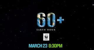 Tarikh dan Masa Earth Hour 2013 di Malaysia