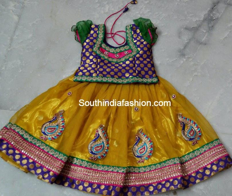 kids designer lehenga choli designs