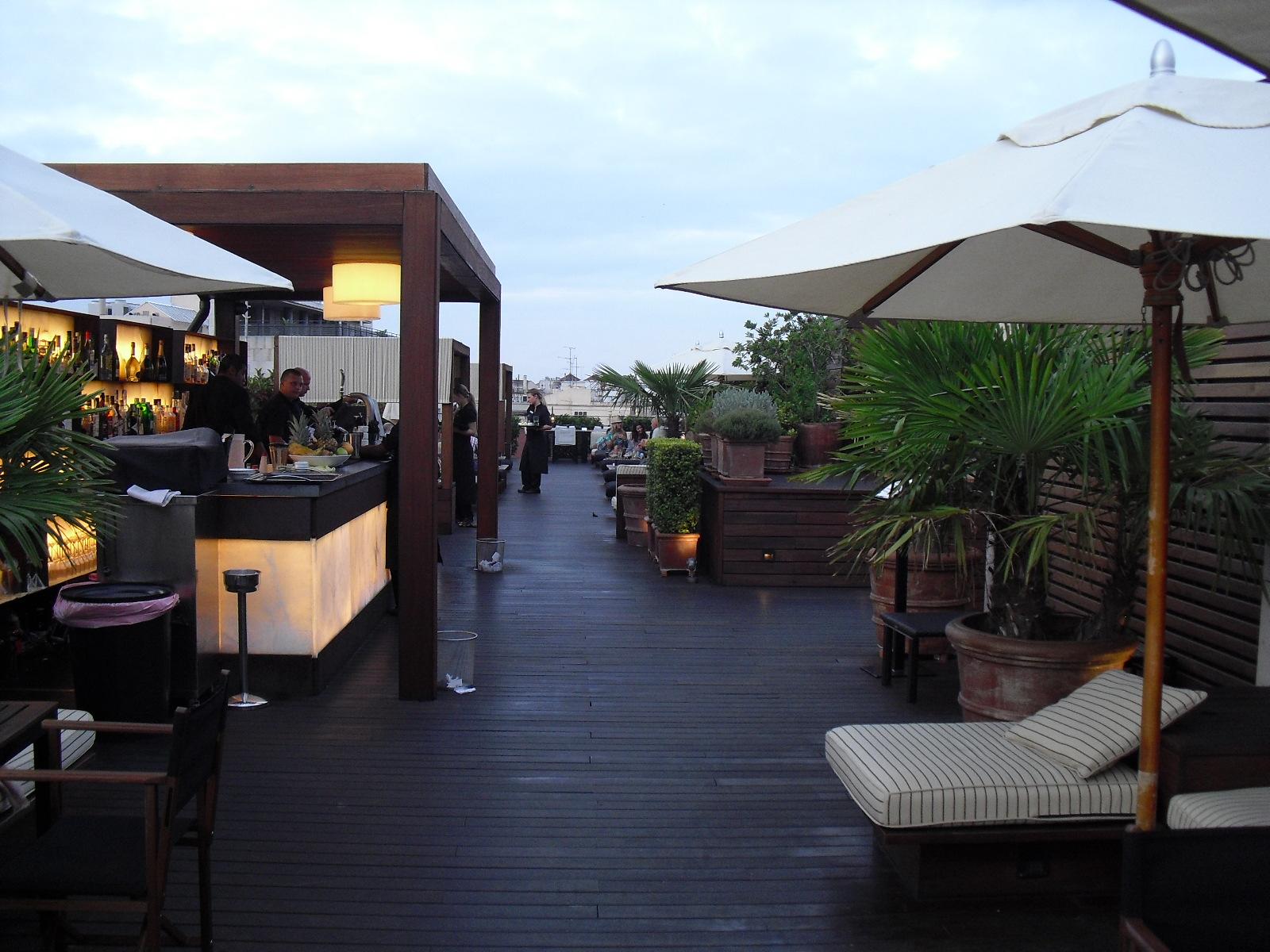La guarida de bam las terrazas urbanas m s chic - Terraza hotel eme ...