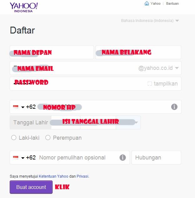 Cara Membuat Email Yahoo Tampilan Terbaru 2015