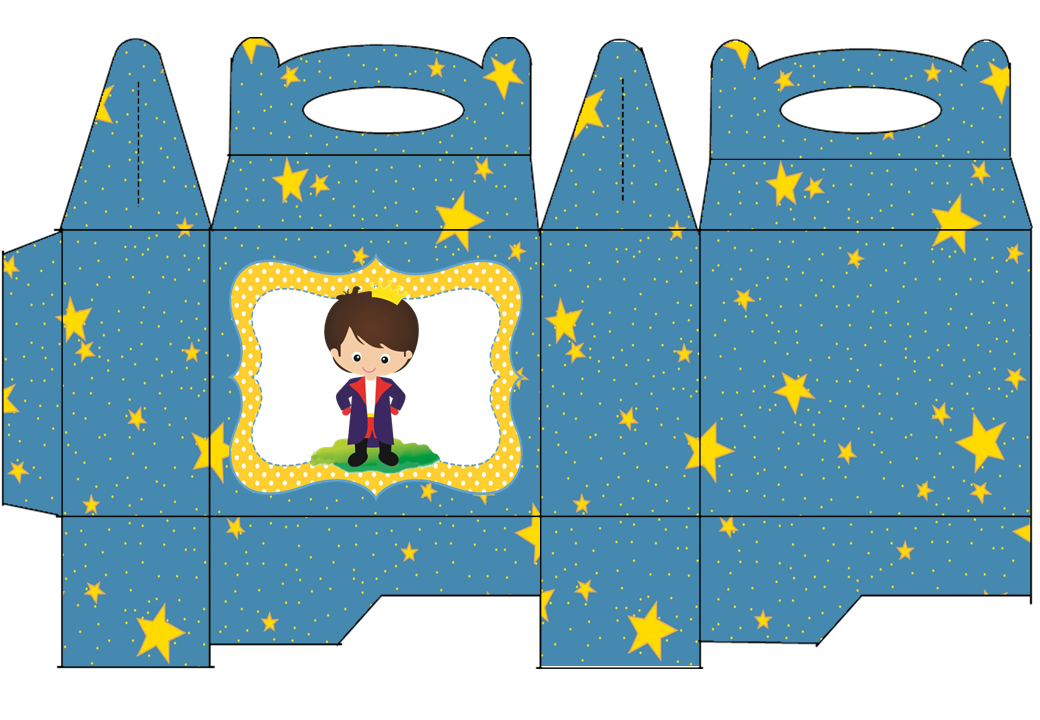 The Little Prince Free Printable Lunch Box.