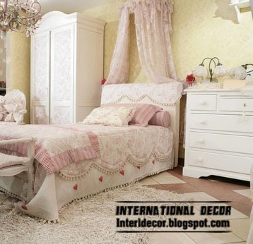 canopy bed for classic girls room