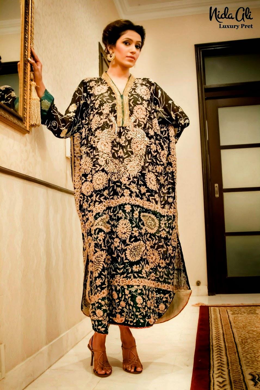 Luxury Pret by Nida Ali