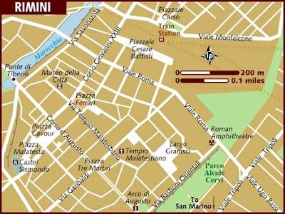 Mappa Regione Rimini