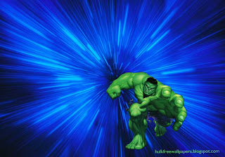 The Incredible Hulk Desktop Wallpaper Hulk Trying to get You at Blue Vortex Desktop wallpaper