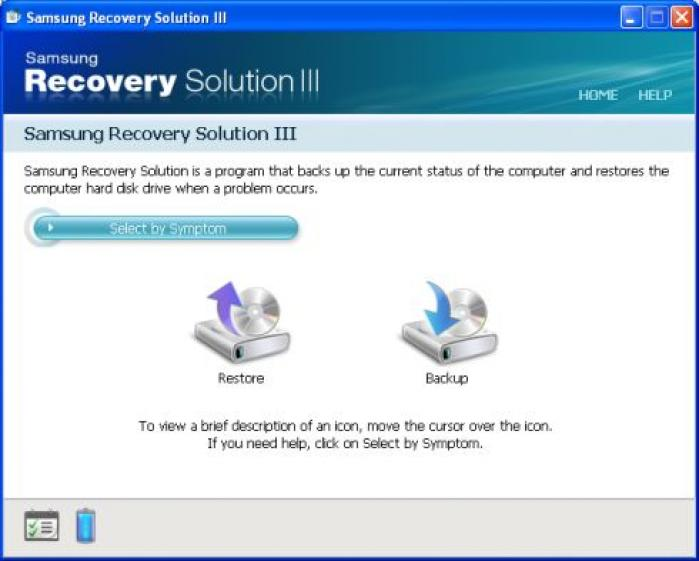 Samsung Recovery Solution