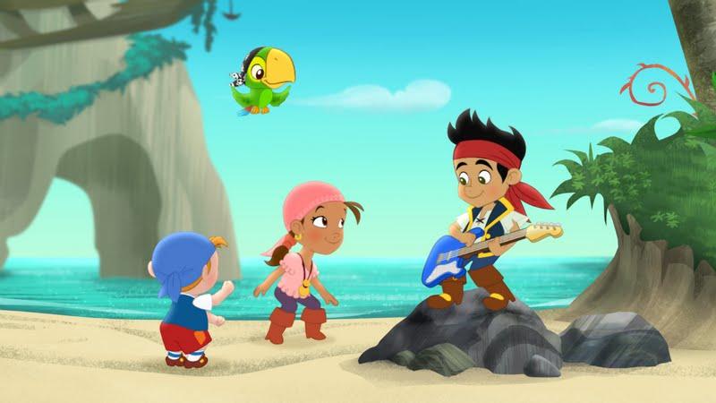 Invitación Cumpleaños Infantil Jake y Los piratas