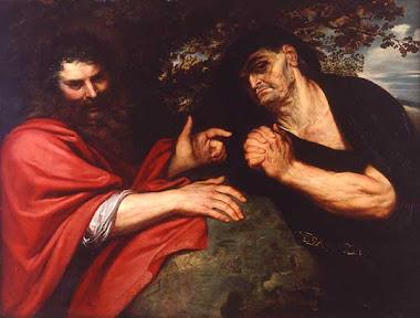 Demòcrit i Heràclit. Rubens