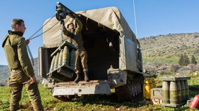 Israel reforça presença exército ao longo das fronteiras do Líbano