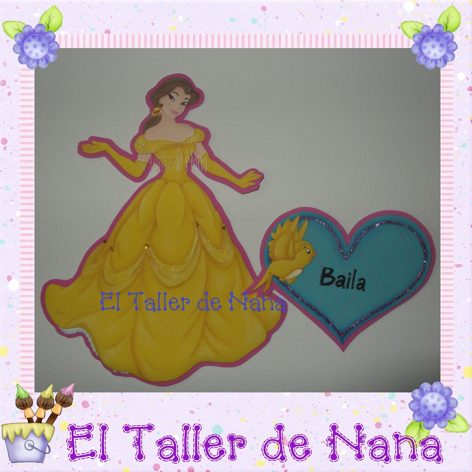 El Taller de Nana: Princesas de Disney en Foami