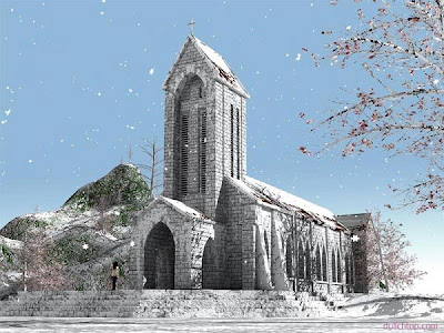 Địa Điểm du lịch dịp giáng sinh và năm mới 2012 Giang+sinh+tai+sapa1