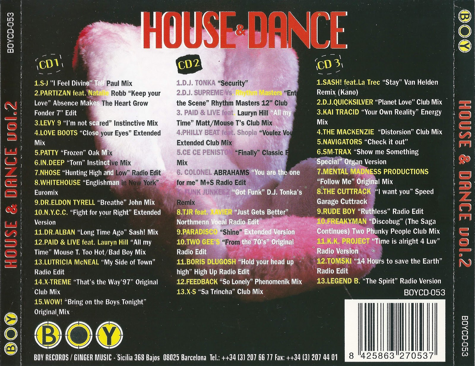 Dance of the 90 39 s house dance vol 2 for House music 1998