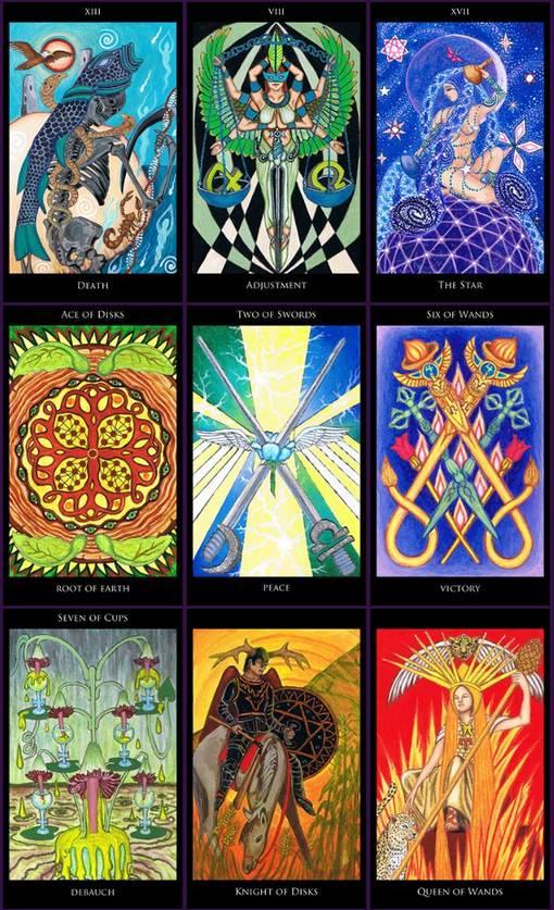 Rosetta Tarot M. M. Meleen ไพ่ทาโรต์ Thoth Book of Seshet Book of Thoth ไพ่ยิปซี ไพ่ทาโร่ โรเซ็ตต้า โรเซตตา