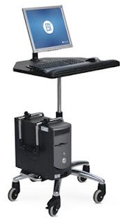 Mobile Ergonomic Computer Station