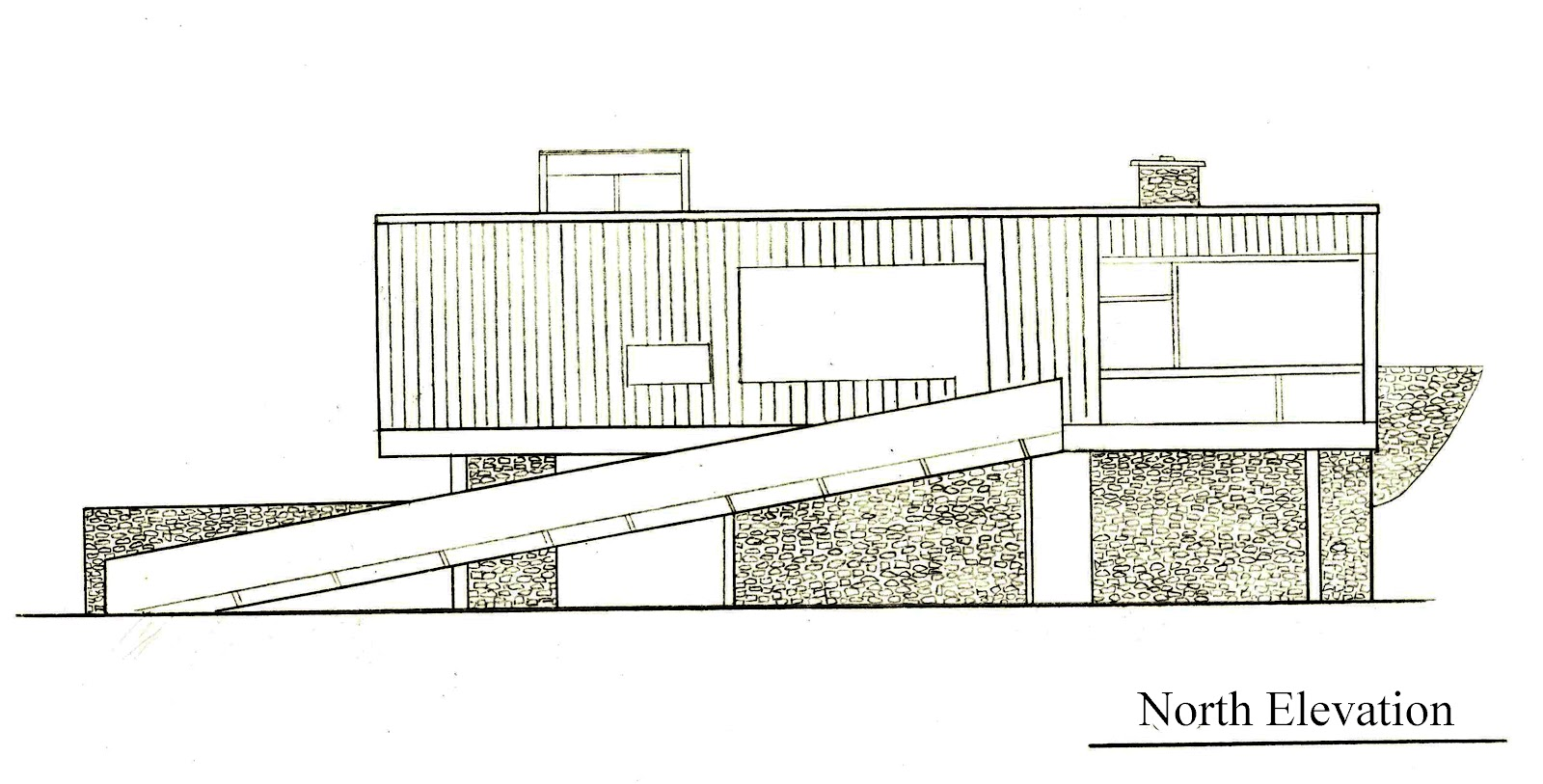 N Elevation Of Home : Arch architectural communication draw it rose