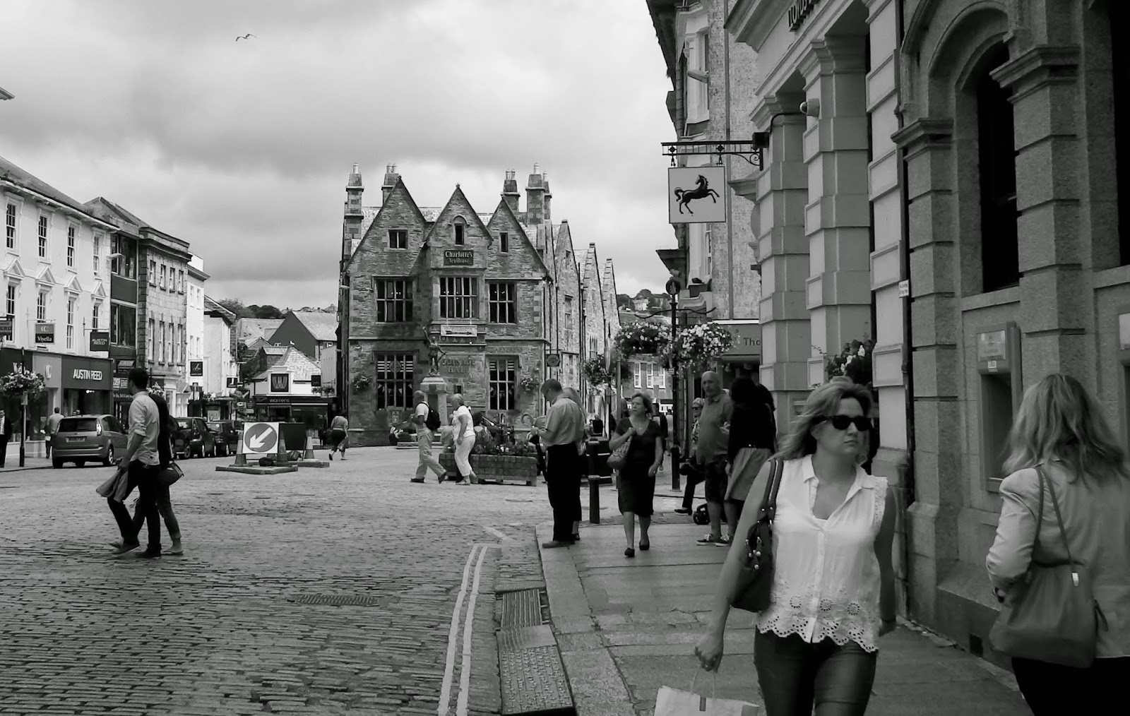 Boscawen Street, Truro, Cornwall