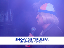 CONFIRA AS FOTOS DO SHOW DE TIRULIPA