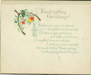 Thanksgiving Cards, part 3