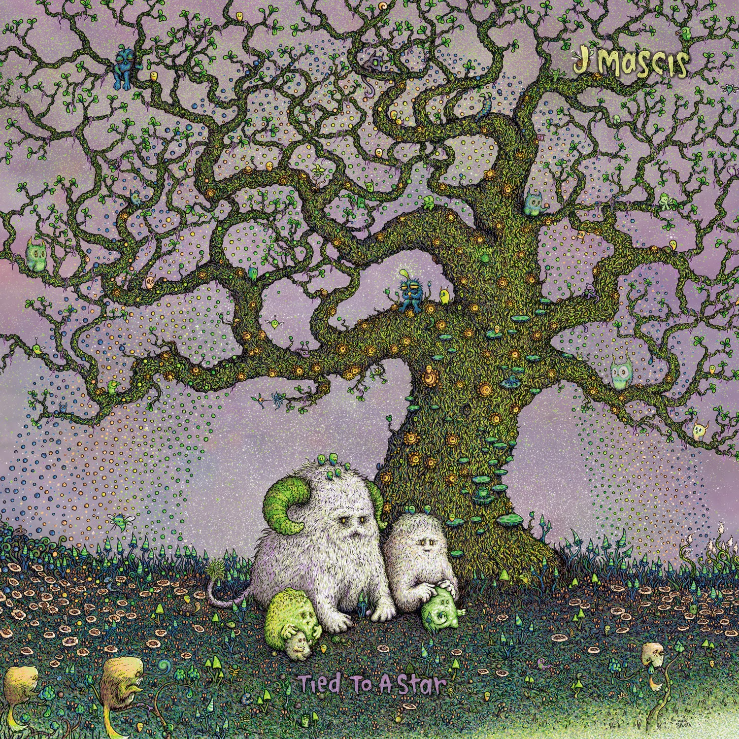 J MASCIS - (2014) Tied to a star