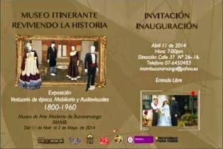 MUSEO ITINERANTE REVIVIENDO LA HISTORIA