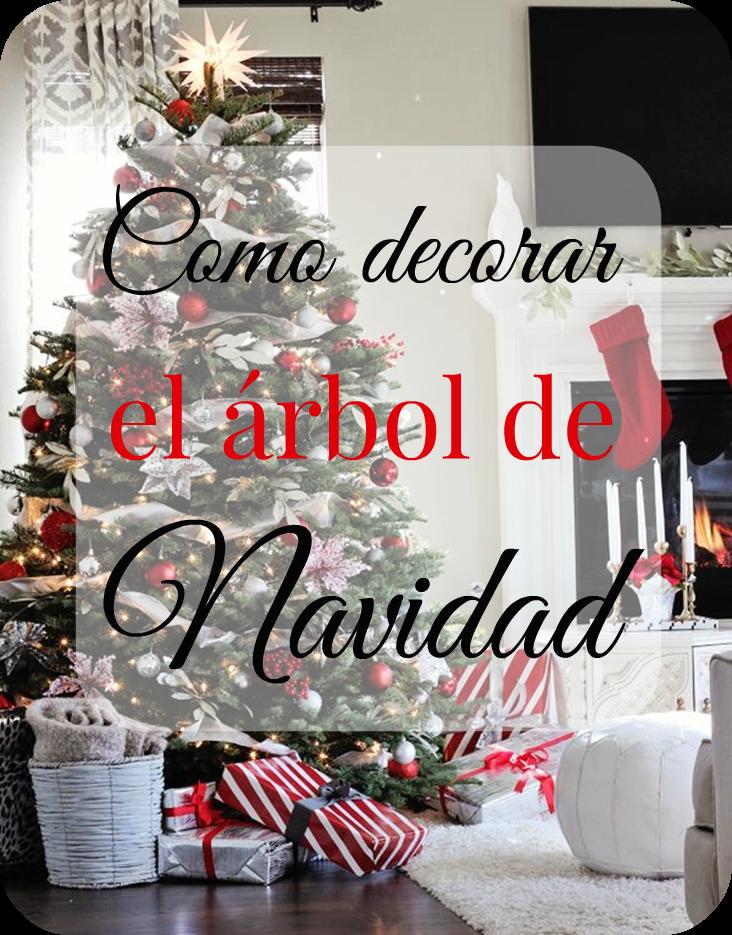 Como decorar arbol de navidad decorar tu casa es - Como decorar mi arbol de navidad ...