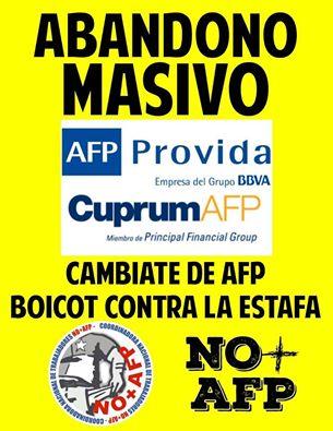 ABANDONO MASIVO NO + AFP
