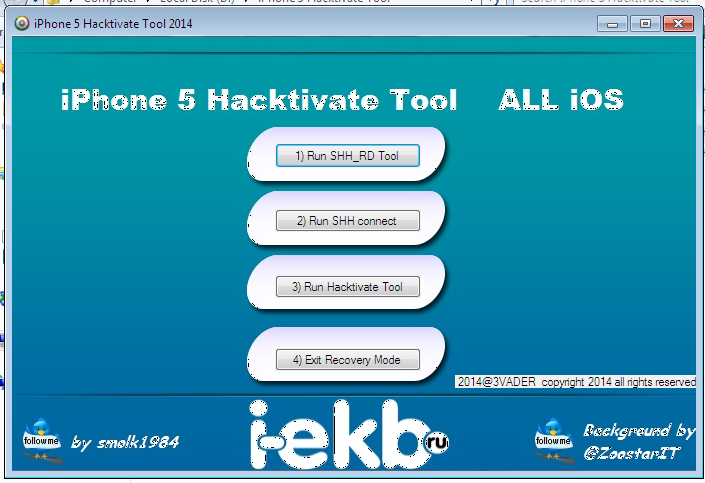 Activation iPhone 4 and iPhone 5   iOS Hack