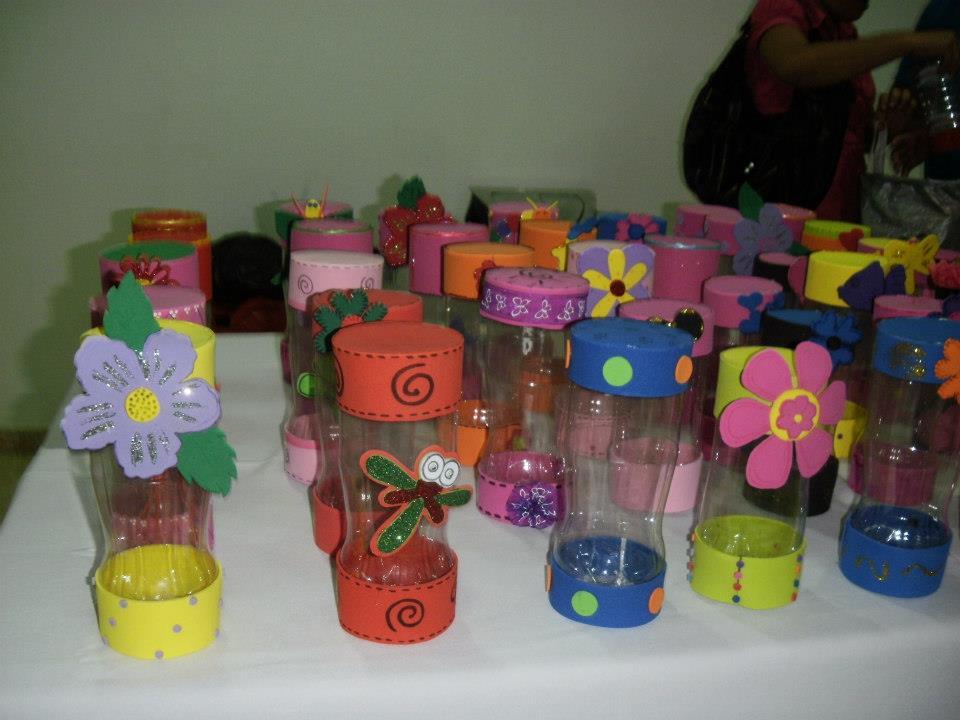 proyectos con materiales reciclables