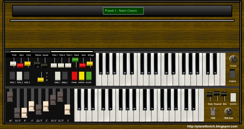 Free virtual home organ The Nash VSTi