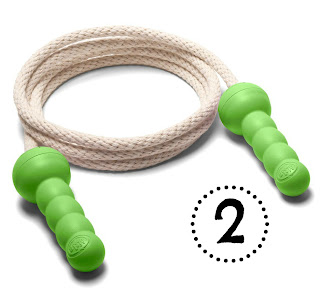 Mommy Testers Green Toys Jump Rope, green toys jump rope review