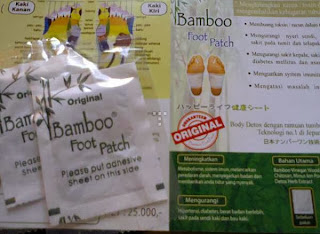 koyo bamboo foot patch