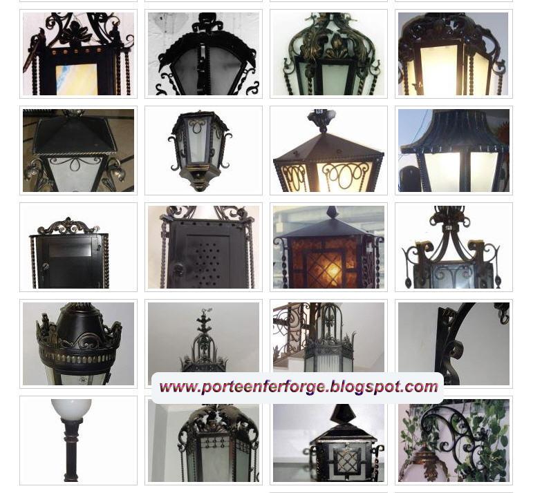 Portail fer forg collection de photos de la lampe en fer for Port fer forge 2013