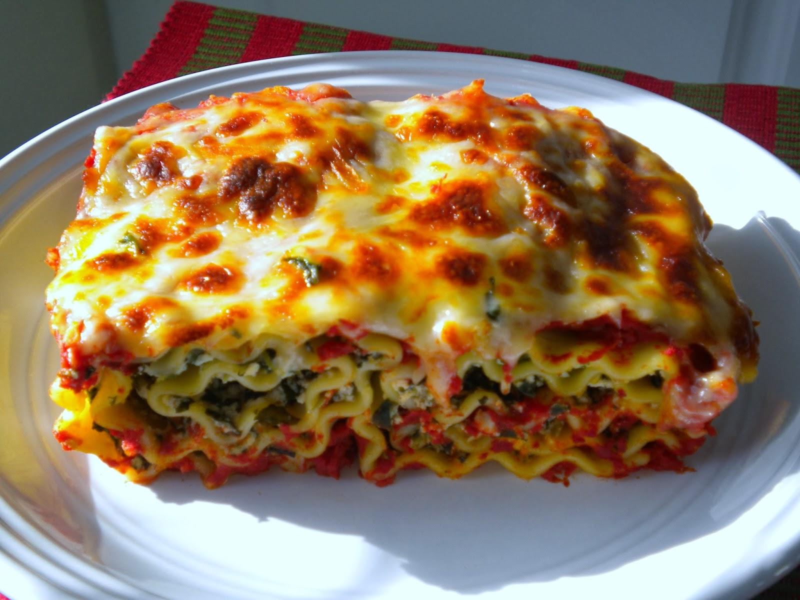 Spinach-Ricotta Lasagna Rolls • Love.Bake.Read