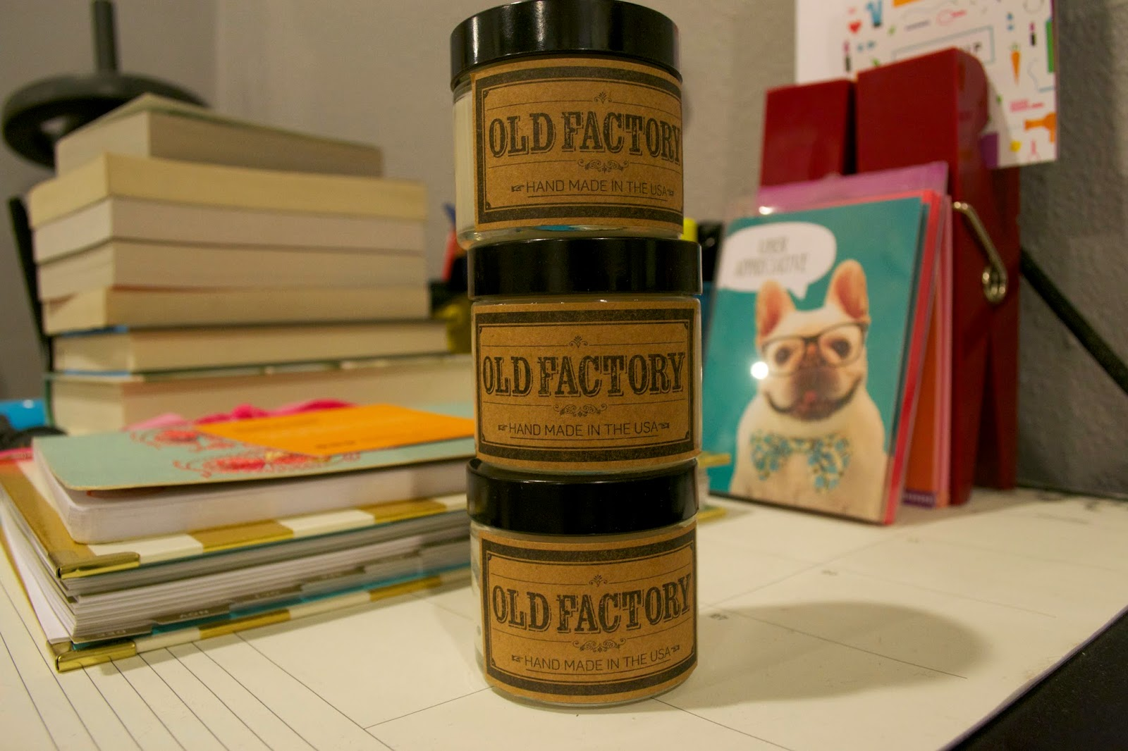 Old Factory Candle Review and Giveaway