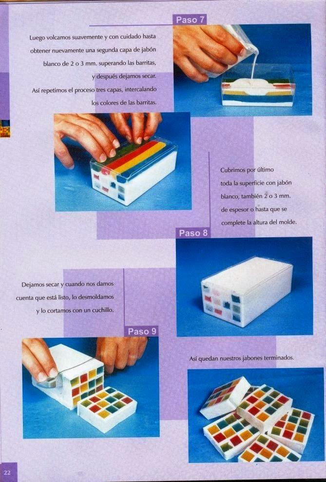 Como hacer jabones artesanales cursos y tutoriales para - Como hacer puff artesanales ...